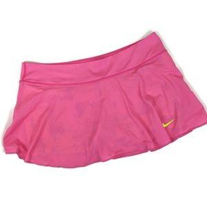 Nike Dri-Fit Skort pink w/ neon yellow shorts sz L